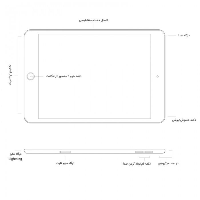 Apple iPad Air 9.7 inch 2019 LTE 3GB / 256GB Tablet