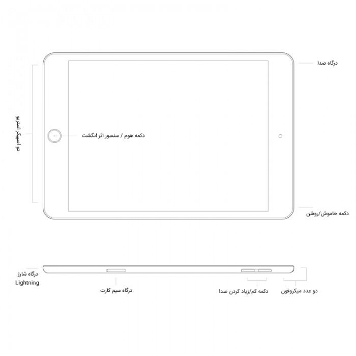 Apple iPad Mini 2019 (5 Generation) 7.9 inch LTE 3GB / 128GB Tablet