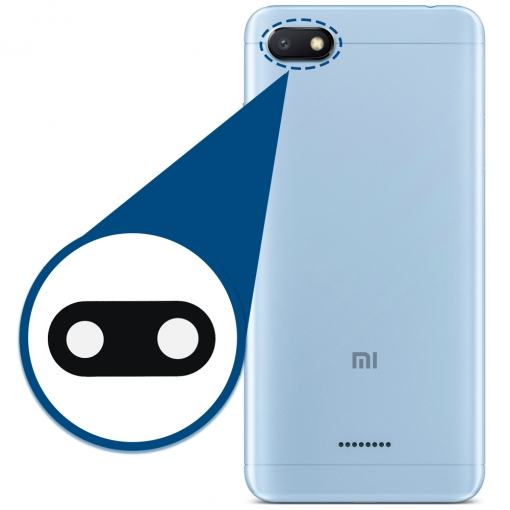 Xiaomi Mi A2 Lite Camera Lens Glass