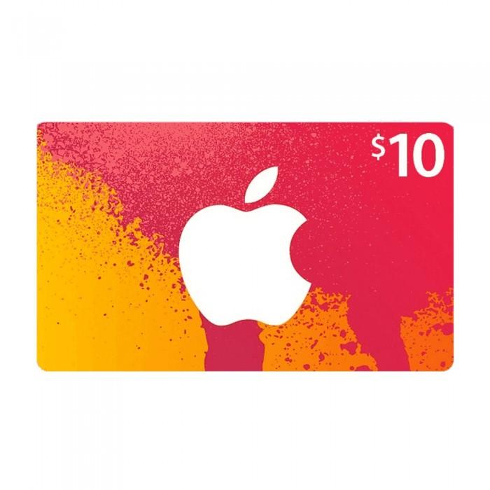 Apple iTunes 10 Dollars Gift Card