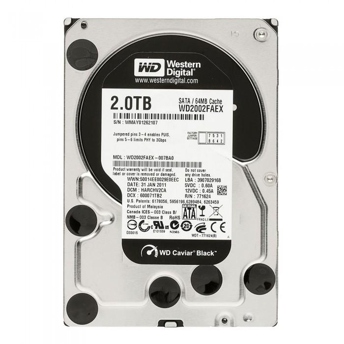 Western Digital Black 2T Internal HDD