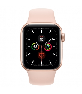 Apple Watch 5 Series 40MM | Gold Aluminum Case With Pink Sport Band