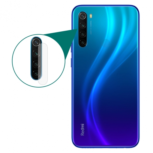 Xiaomi Redmi Note 8 Camera Protector Glass