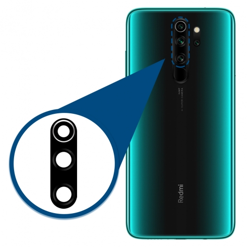 Xiaomi Redmi Note 8 Pro Camera Lens Glass