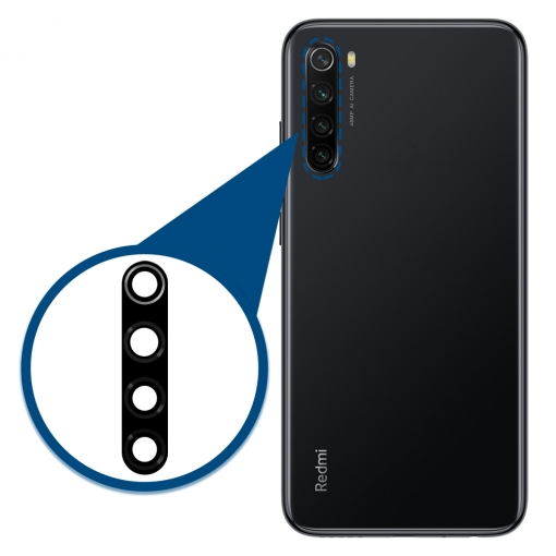 Xiaomi Redmi Note 8 Camera Lens Glass