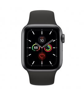 Apple Watch 5 Series 40MM   Space Gray Aluminum Case With Sport Band