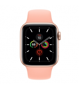 Apple Watch 5 Series 44MM | Gold Aluminum Case with Sport Band