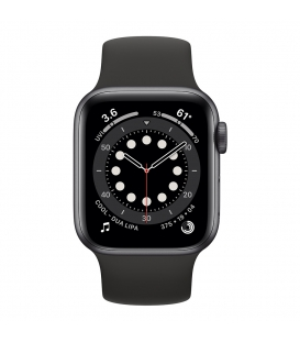 Apple Watch 6 Series 44MM | Black Aluminum Case with Sport Band