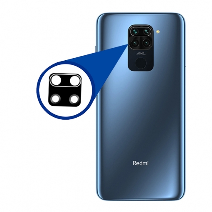 شیشه لنز دوربین گوشی موبایل Xiaomi Redmi note 9