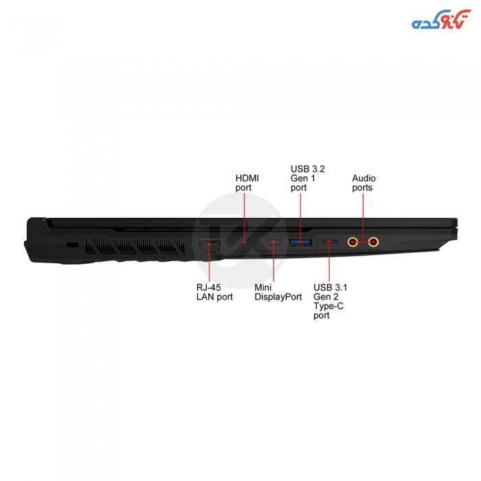 MSI GL65 Leopard 10SDR-492US Core i7 (10750H) - 16GB -1TB + 512GB SSD - 6GB(GTX1660 Ti) Laptop