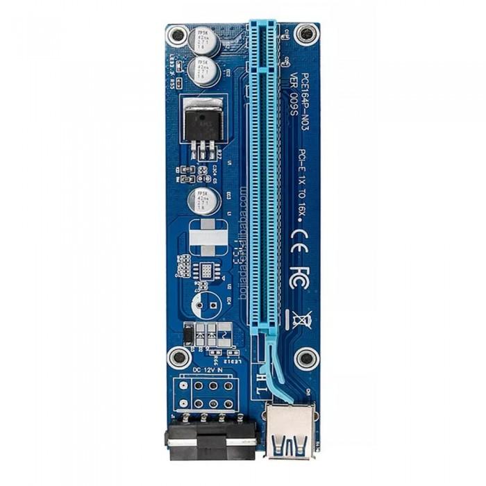 riser کارت گرافیک تبدیل PCI EXPRESS 1X به 16X مدل 009S