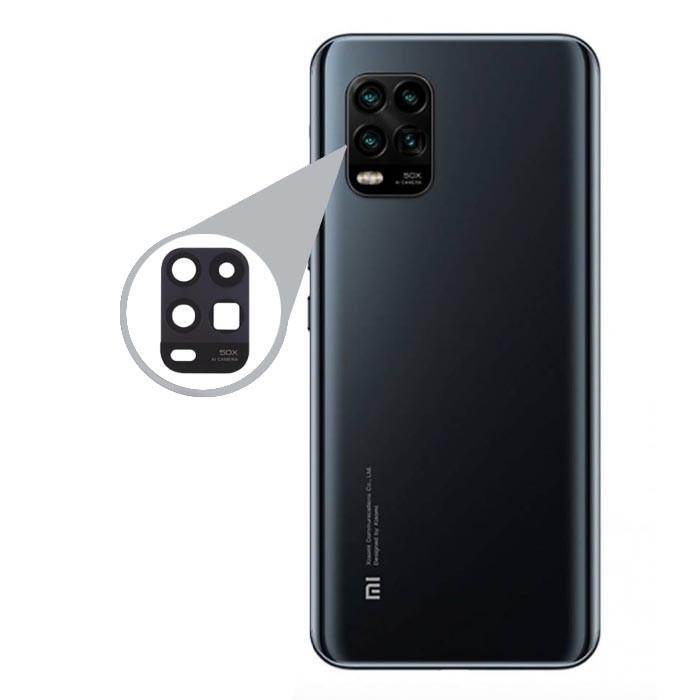 شیشه لنز دوربین گوشی موبایل Xiaomi Mi 10 Lite Zoom Edition