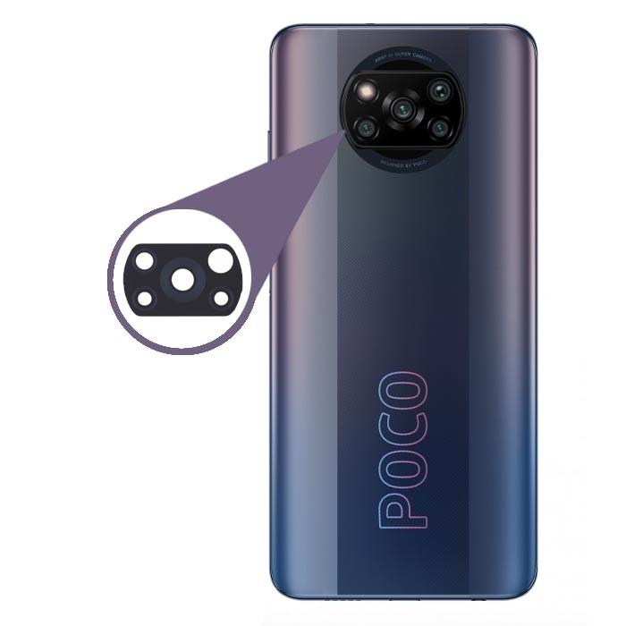 شیشه لنز دوربین گوشی موبایل Xiaomi Poco X3 NFC