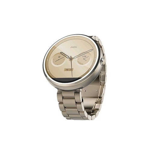 Motorola Moto 360 Champagne Gold 18mm band