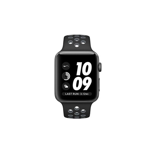 Apple Watch 2 Nike Plus 42mm Space Gray with Black/cool Band
