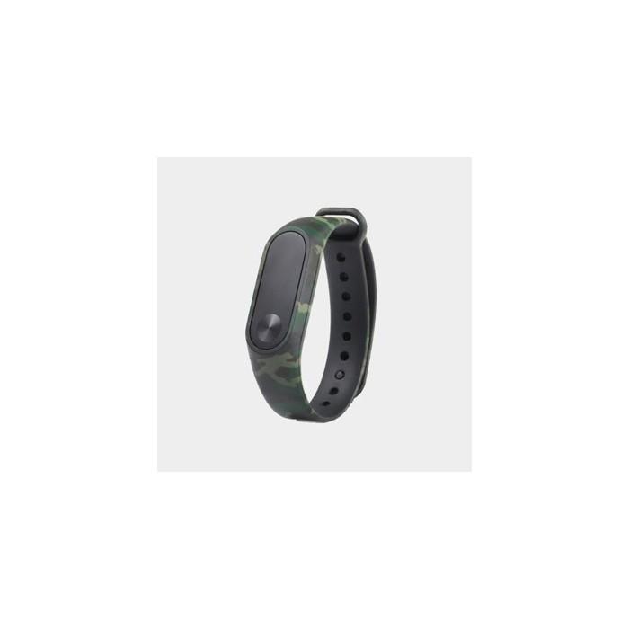 بند دستبند سلامتی هوشمند شیائومی طرح چیریکی Mi Band 2 Silicone