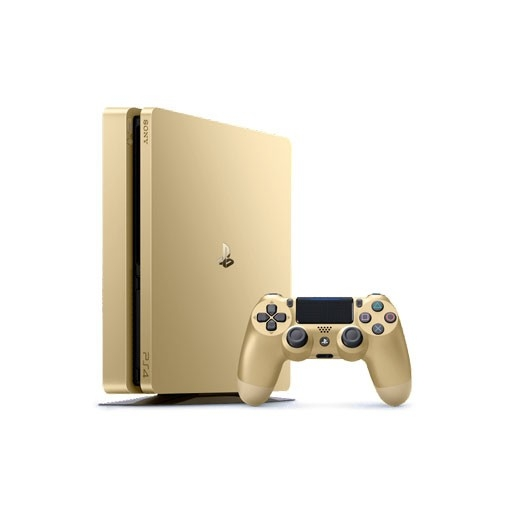 کنسول بازی سونی Playstation 4 Slim Gold edition ریجن 2 -1TB