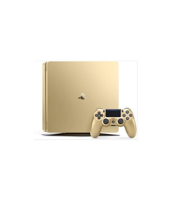 کنسول بازی سونی Playstation 4 Slim Gold edition ریجن 2 -1TB