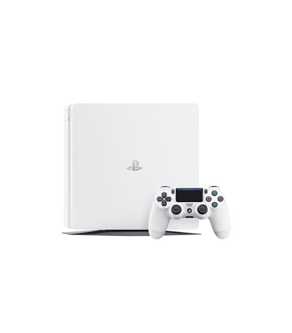کنسول بازی سونی Playstation 4 Slim White editionریجن 2 -500GB