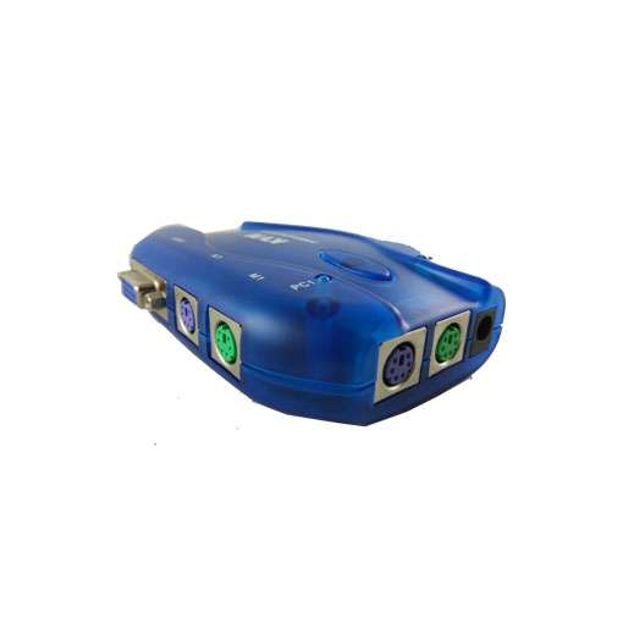 سوییچ کی وی ام 2 پورت اتوماتیک مدل USB KVM 102 UK