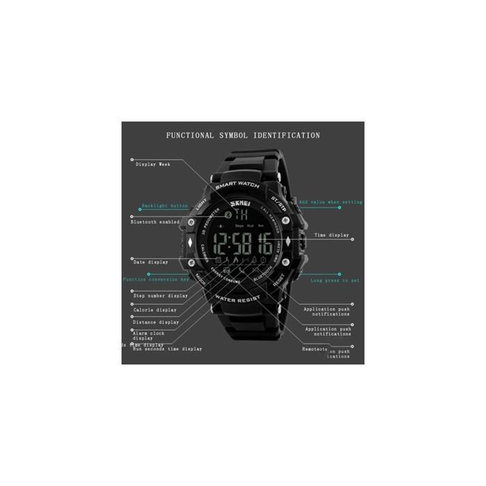 ساعت مچی هوشمند دیجیتال SKMEI