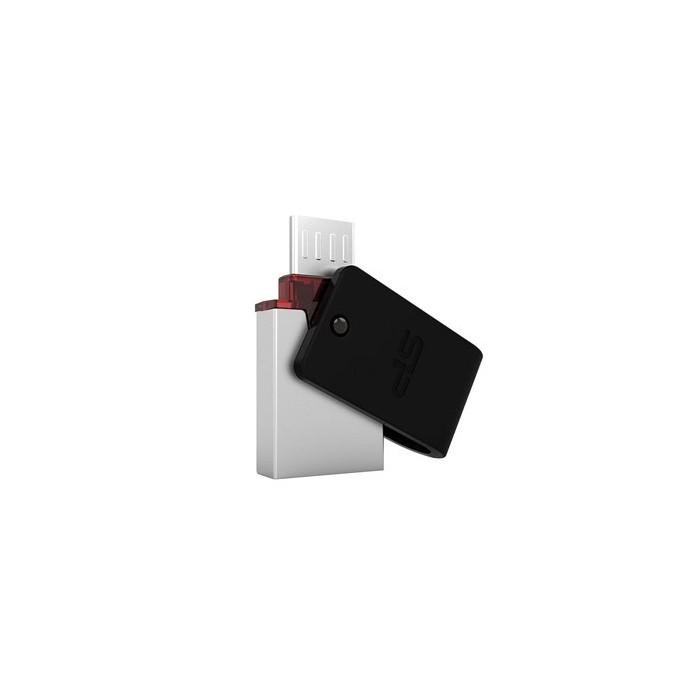 فلش مموری OTG USB 3 سیلیکون پاور مدل X31 ظرفیت 16 گیگ