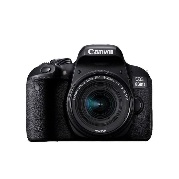 دوربین دیجیتال کانن مدل EOS 800D همراه با لنز 55-18میلی متر IS STM