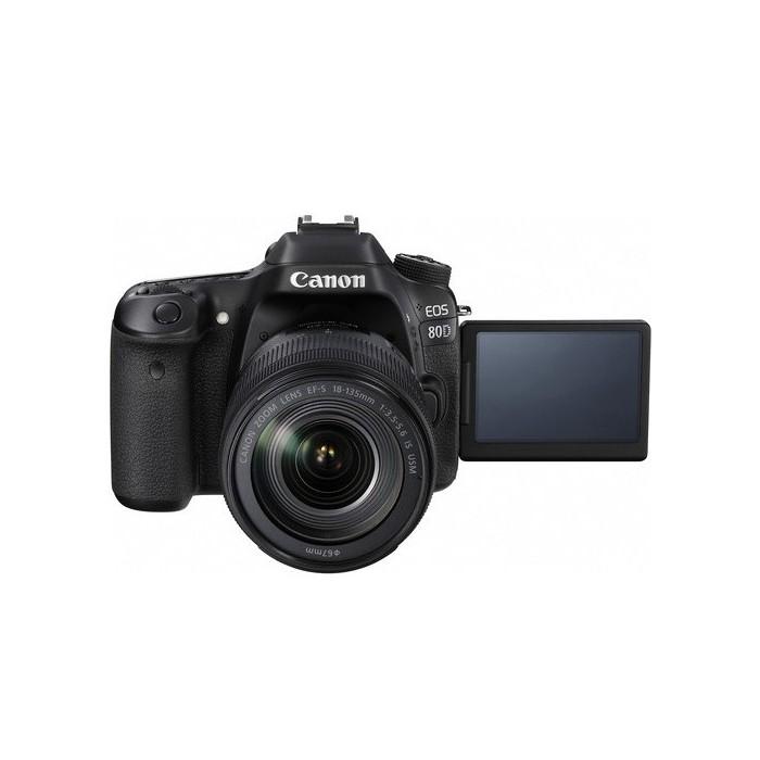 دوربین دیجیتال کانن مدل EOS 80D همراه با لنز 135-18میلی متر IS USM