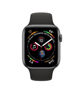 Apple Watch 4 Series | Gray Aluminum Case with Black Sport Band