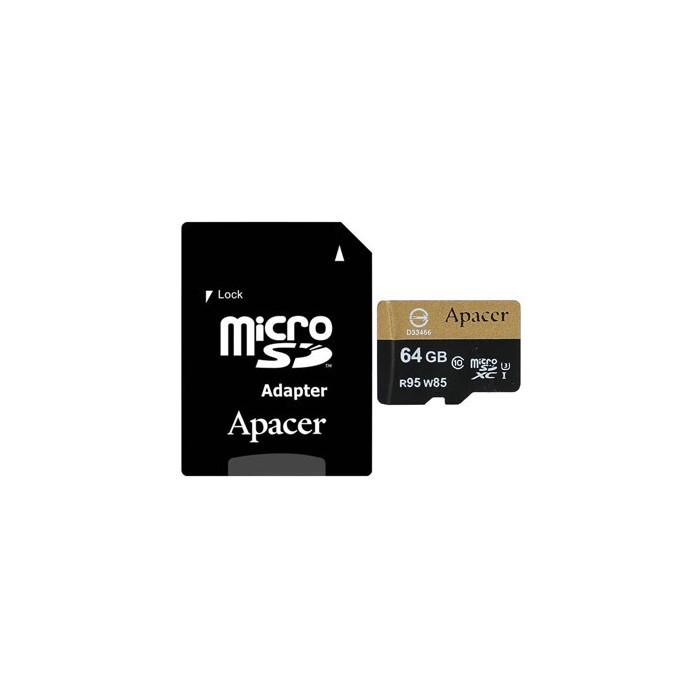 کارت حافظه اپیسر کلاس 10 استاندارد 64GB-UHS-IU3 with Adaptor