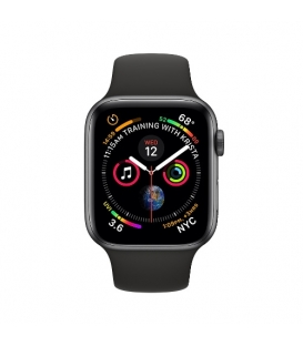 Apple Watch 4 Series 40MM | Gray Aluminum Case with Black Sport Band