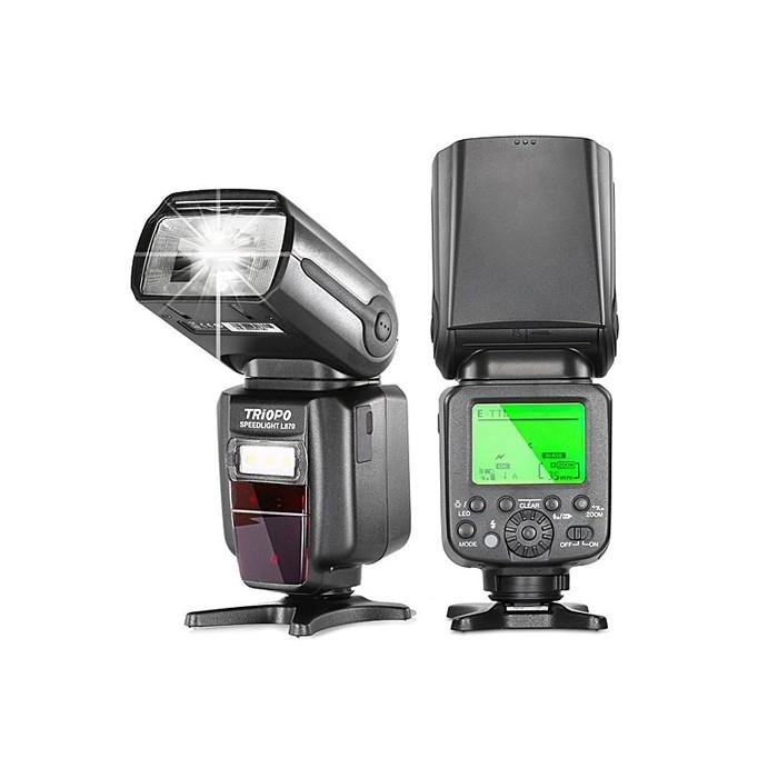 فلاش اکسترنال مدل Triopo L870 برای دوربین های کانن و نیکون