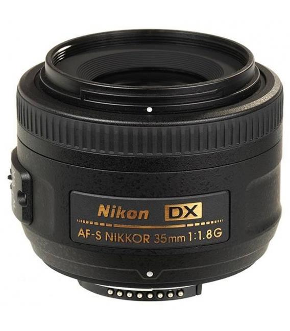 لنز نیکون مدل 35mm f/1.8G DX AF-S | Nikon 35mm f/1.8G DX AF-S Lens