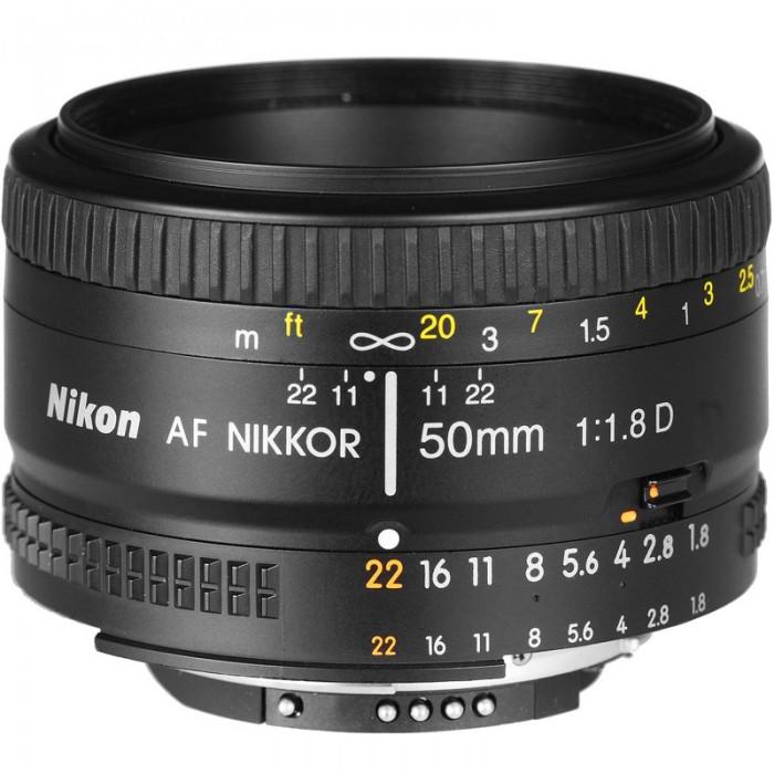 لنز دوربین عکاسی ۵۰ میلیمتر نیکون | NIKON AF-S NIKKOR 50mm F/1.8G Camera Lens