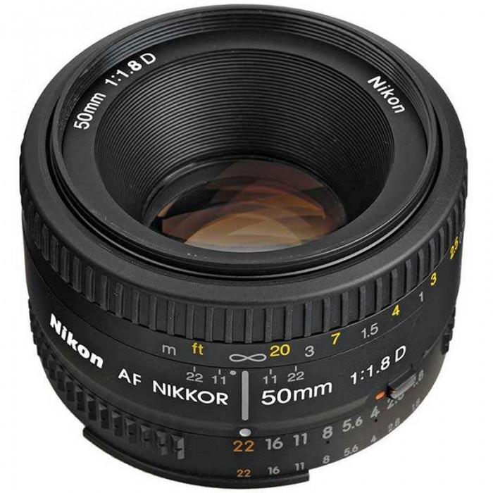 لنز نیکون مدل AF 50mm f/1.8D