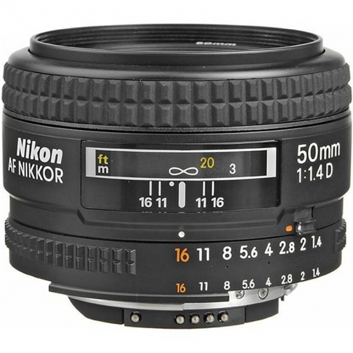 لنز AF-S Nikkor 50mm f/1.4G - گارانتی ایده آل |