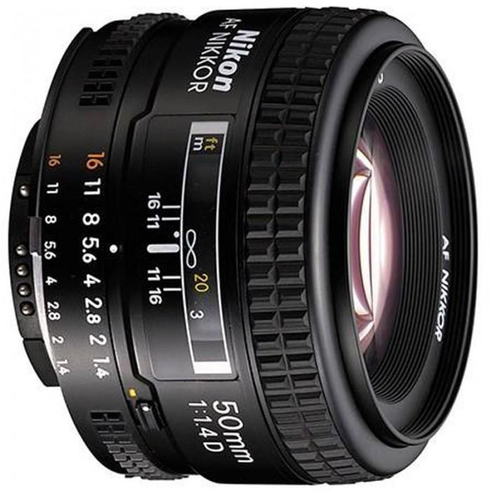 لنز نیکون مدل AF 50mm f/1.4D