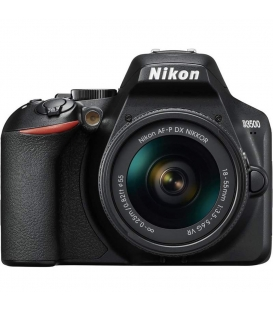 Nikon D3500 DSLR Camera with 18-55mm VR AF-P Lens