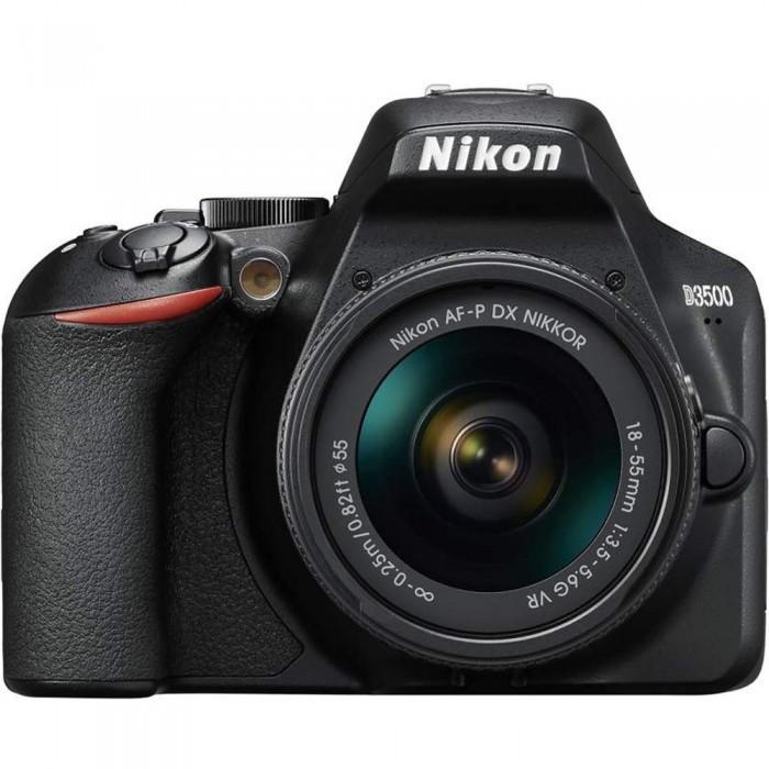Nikon D3500 DSLR Camera with 18-55mm VR AF-P Lens
