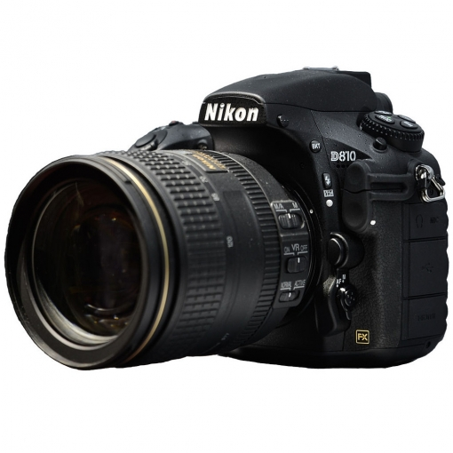 Nikon D810 DSLR Camera with 24-120mm f/4G Lens