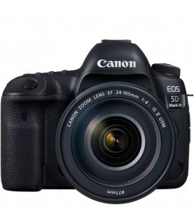 Canon EOS 5D Mark IV DSLR Camera with 24-105mm f/4L IS II USM Lens