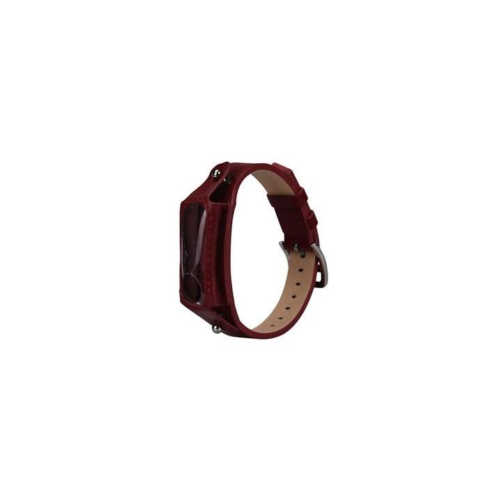 بند دستبند سلامتی هوشمند شیائومی Mi Band 2 Leather