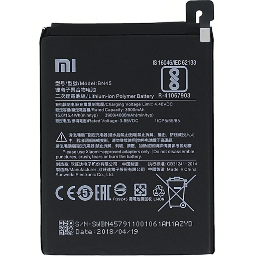 Xiaomi Redmi Note 5 Battery BN45 4000mAh