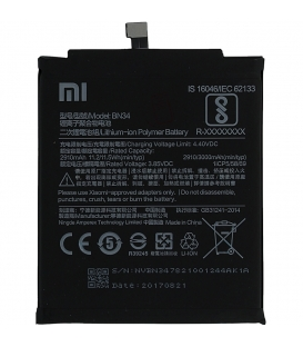 Xiaomi Redmi 5A Battery BN34 3000mah