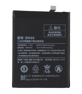 Xiaomi Redmi 4 Prime Battery BN40 4100mAh