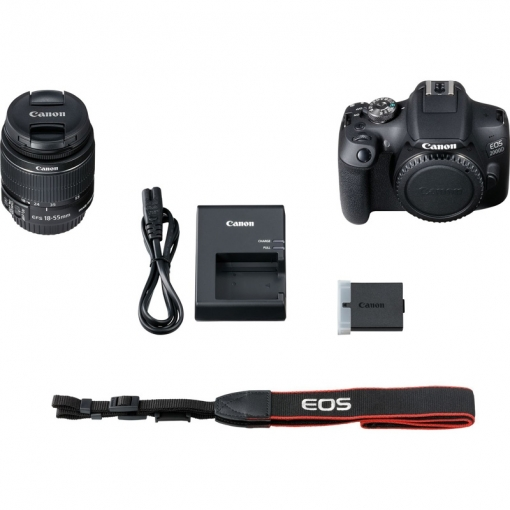 Canon EOS 2000D(1500D) With 18-55 mm IS II Lens