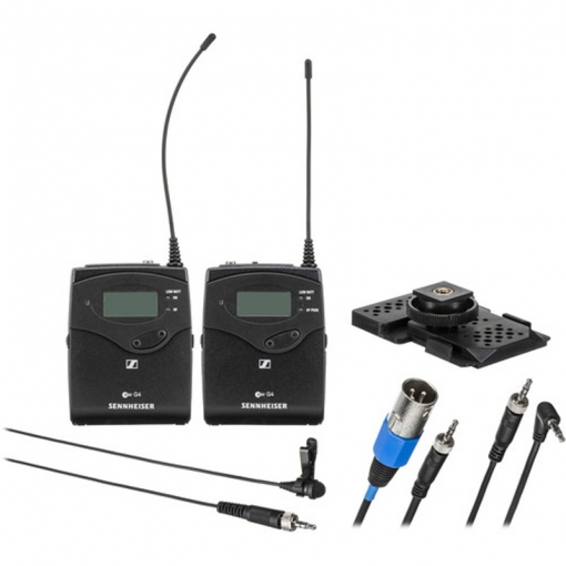 Sennheiser EW 112P G4 Camera-Mount Wireless ME2-II Omni Lavalier Microphone