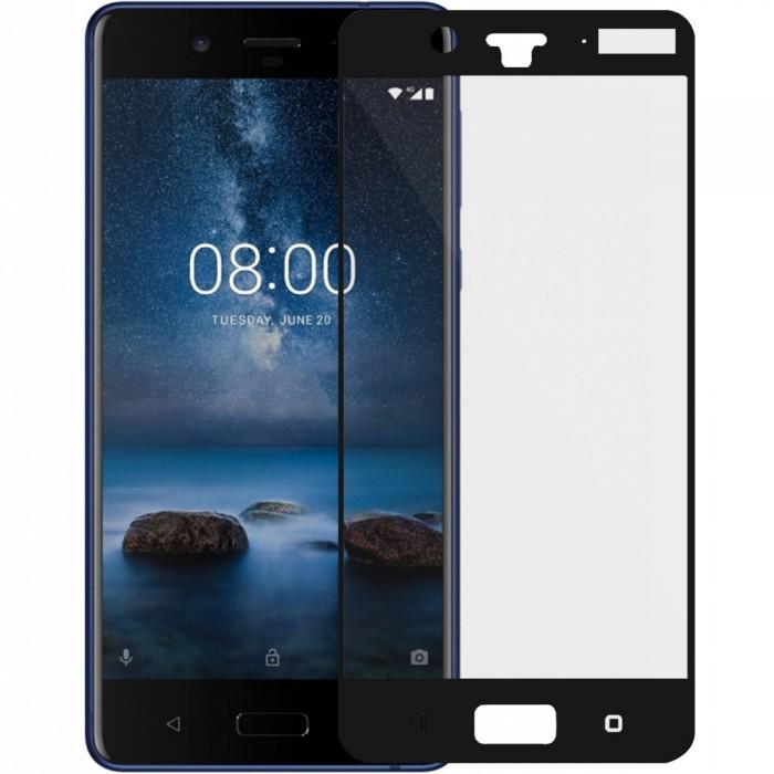 Nokia 8 Screen Protector Full Glass 5D