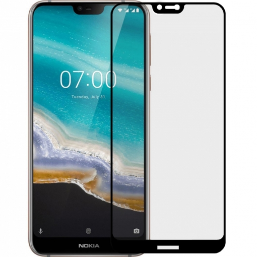Nokia 7.1 Screen Protector Full Glass 9D