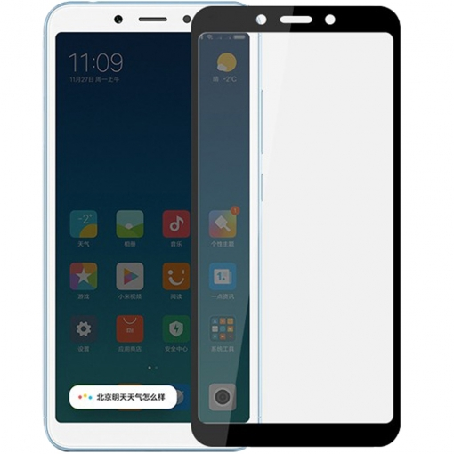 Xiaomi Redmi 6A Screen Protector Full Glass 5D